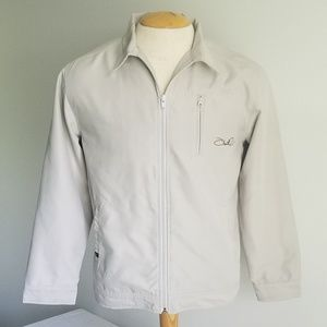 O'Neill Beige Full Zip Chino All Season Jacket